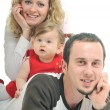 Happy young family — Stock Photo #5384269