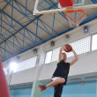 Basketball competition concept — Foto Stock