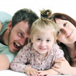 Happy young family together — Stock Photo #5384538