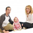 Happy young familyhappy young family — Stock Photo #5384773