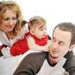 Happy young family — Stock Photo #5385167