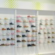 Stock Photo: Shoes in shop window