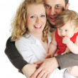 Happy young family — Stock Photo #5385347