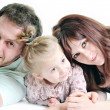 Happy young family together — Stock Photo #5386652