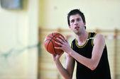 バスケット ボールの決闘 — ストック写真