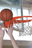 Basketball man — Stock Photo