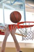 Basketbal man — Stockfoto