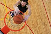 Koncepcja konkurencja koszykówka — Zdjęcie stockowe