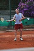 Tennis man — Stock Photo