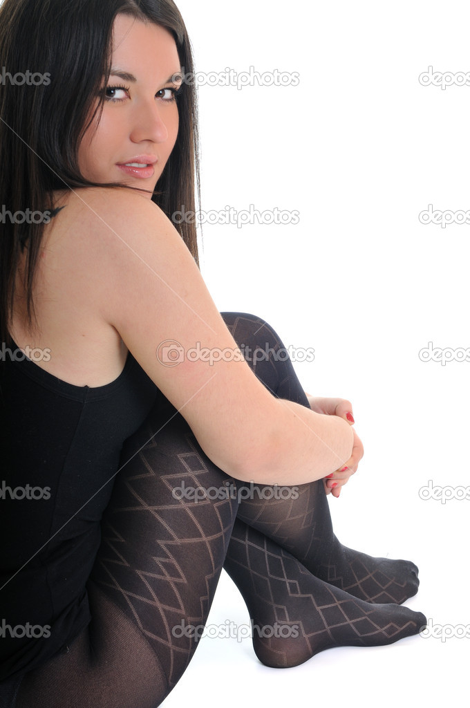 Young woman fashion leg and socks — Stock Photo #5381438