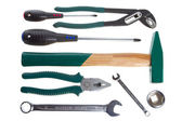 Tool-ware set — Stock Photo