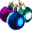 Three balls of different colours — Stock Photo