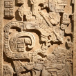 Pre-columbian mexican art — Stock Photo