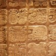 Mayan hieroglyphs - Stock Photo