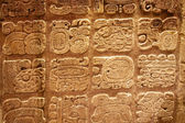 Mayan hieroglyphs — Stock Photo