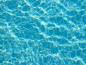 Beautiful clear pool water — Stock Photo