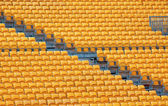 Yellow chairs — Stock Photo