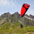 Royalty-Free Stock Photo: Paragliding in alps