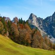 Late autumn in alps — Stock Photo #5245765