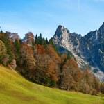 Late autumn in alps — Stock Photo