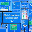 Swiss road signs — Stock Photo #5326932