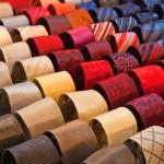 Silk neckties — Stock Photo