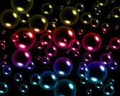 Colorful bubbles — Stock Photo