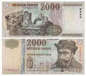 2000 Hungarian forints — Stock Photo