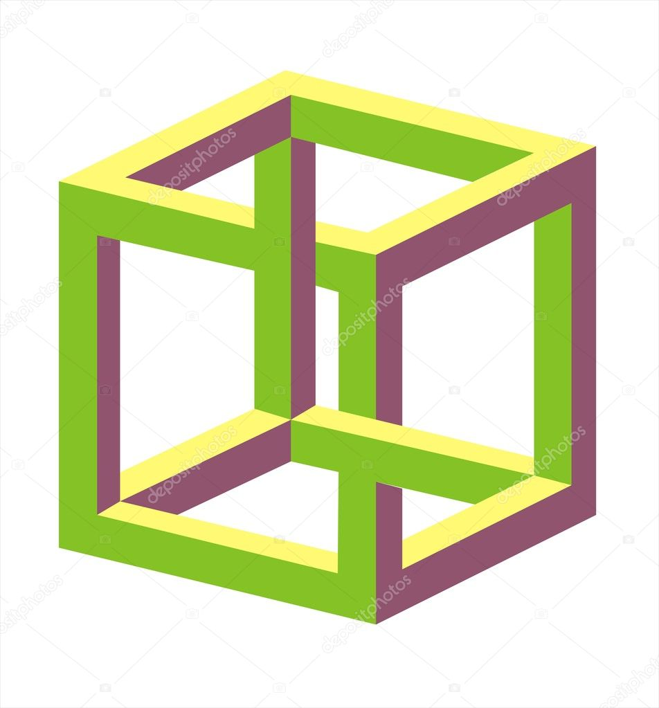 Optical Illusions Square Optical illusio...