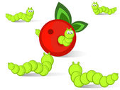 Caterpillars — Stock Vector