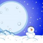 Snowman — Stock Vector #4219426