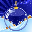 Stock vektor: Christmas Ball Transparent