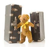 Old teddy bear — Stock Photo