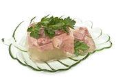 Aspic dish. — Foto de Stock