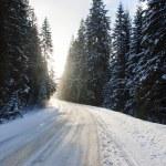 Snow way — Stock Photo
