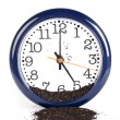 Stock Photo: Time in clock