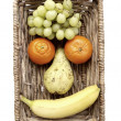 Stock Photo: Fruit Face
