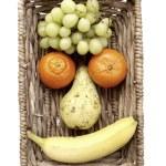 Fruit Face — Stock Photo