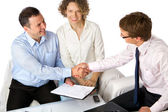 So, we have a deal! — Stock Photo