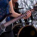 Guitarist - Musical Band — Stock Photo #4106068