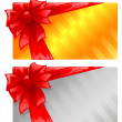 Two gift cards - Image vectorielle