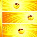 zonnige banner — Stockvector  #4700628