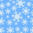 Royalty-Free Stock Vector Image: Seamless background with snowflakes