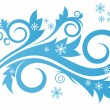 Winter design — Stock Vector