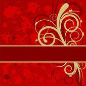 Grunge festive background — Vector de stock