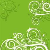 Фон с весны орнамент — Cтоковый вектор