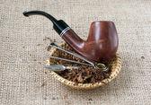 Tütün boru — Stok fotoğraf