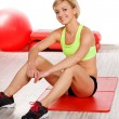 Woman at the gym — Stock Photo #4700522