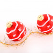 Royalty-Free Stock Photo: Christmas baubles