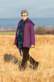 Senior lady — Stock Photo